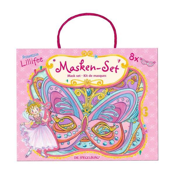 Maskenset Prinzessin Lillifee, 8 Stück