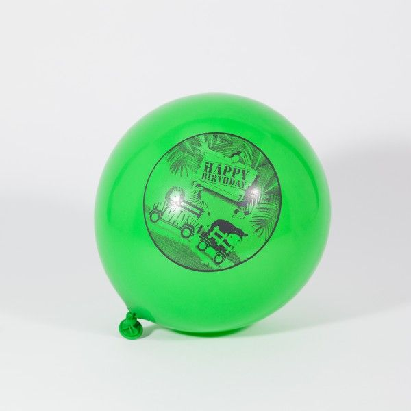 Luftballons Dschungel, 6 Stück