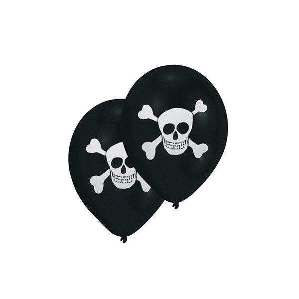 Luftballons Piraten, 8 Stück