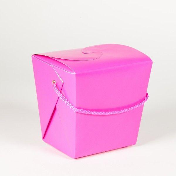 Mitgebsel Box, rosa, 1 Stück X X