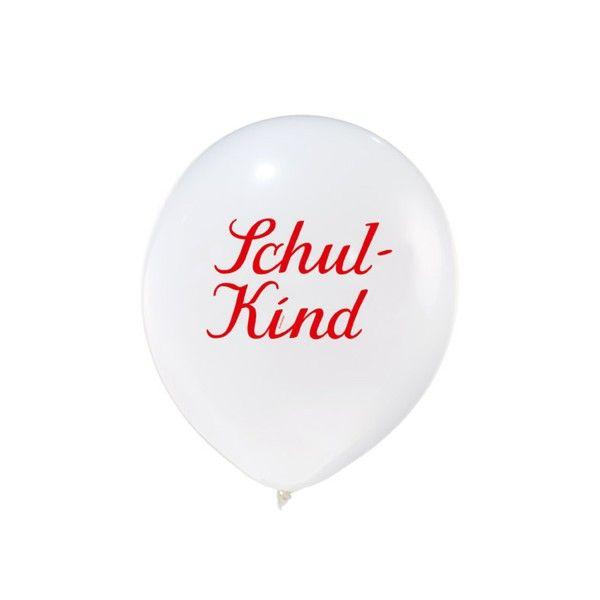 Luftballon Schulkind, 1 Stück