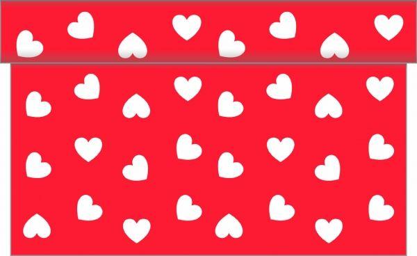 Tischläufer Love, 40x480 cm, 1 Stück
