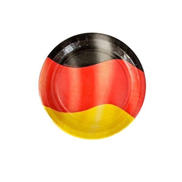 Pappteller Deutschland