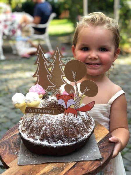 Cake und Cupcake Topper Woodland (Wald), 5 Stück