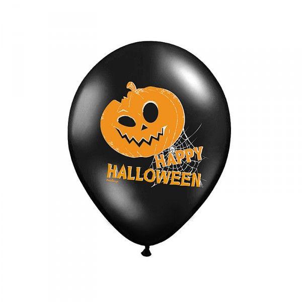 Luftballons Happy Halloween, 6 St