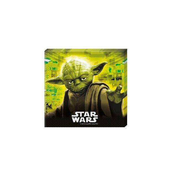 Star Wars Servietten 33x33cm, 20 St