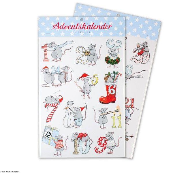 Sticker Adventskalender M