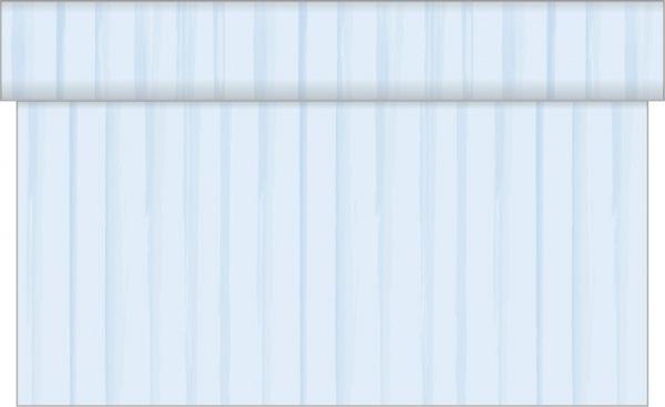 Tischläufer Baby Streifen, Blau, 40x480 cm, 1 Stück