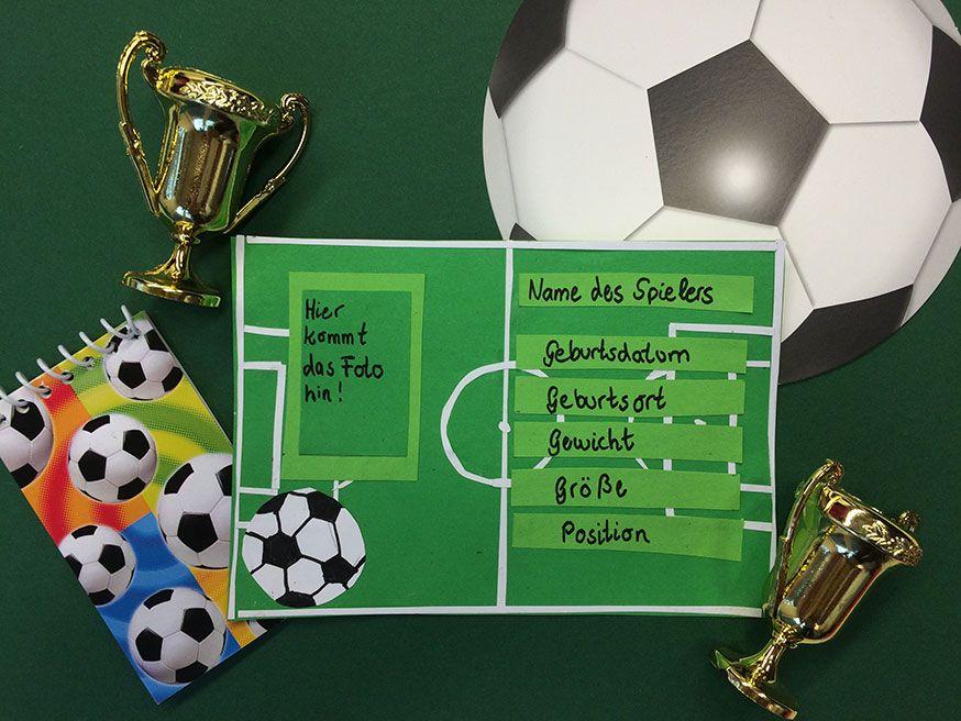 Für jeden kleinen Kicker eine eigene Autogrammkarte
