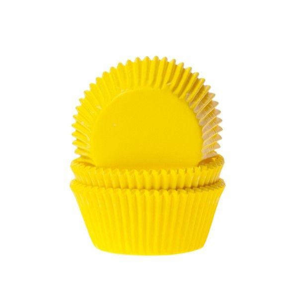 Muffinförmchen, gelb, 50 Stück