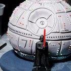 Kindergeburtstag-Star-Wars-Kuchen-Todesstern