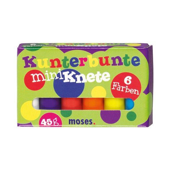 Kunterbunte Miniknete