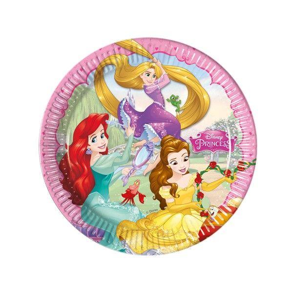 Pappteller Disney Prinzessinnen,