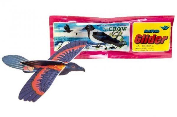 Styroporflieger Vogel- Wurfgleiter, 1 Stück