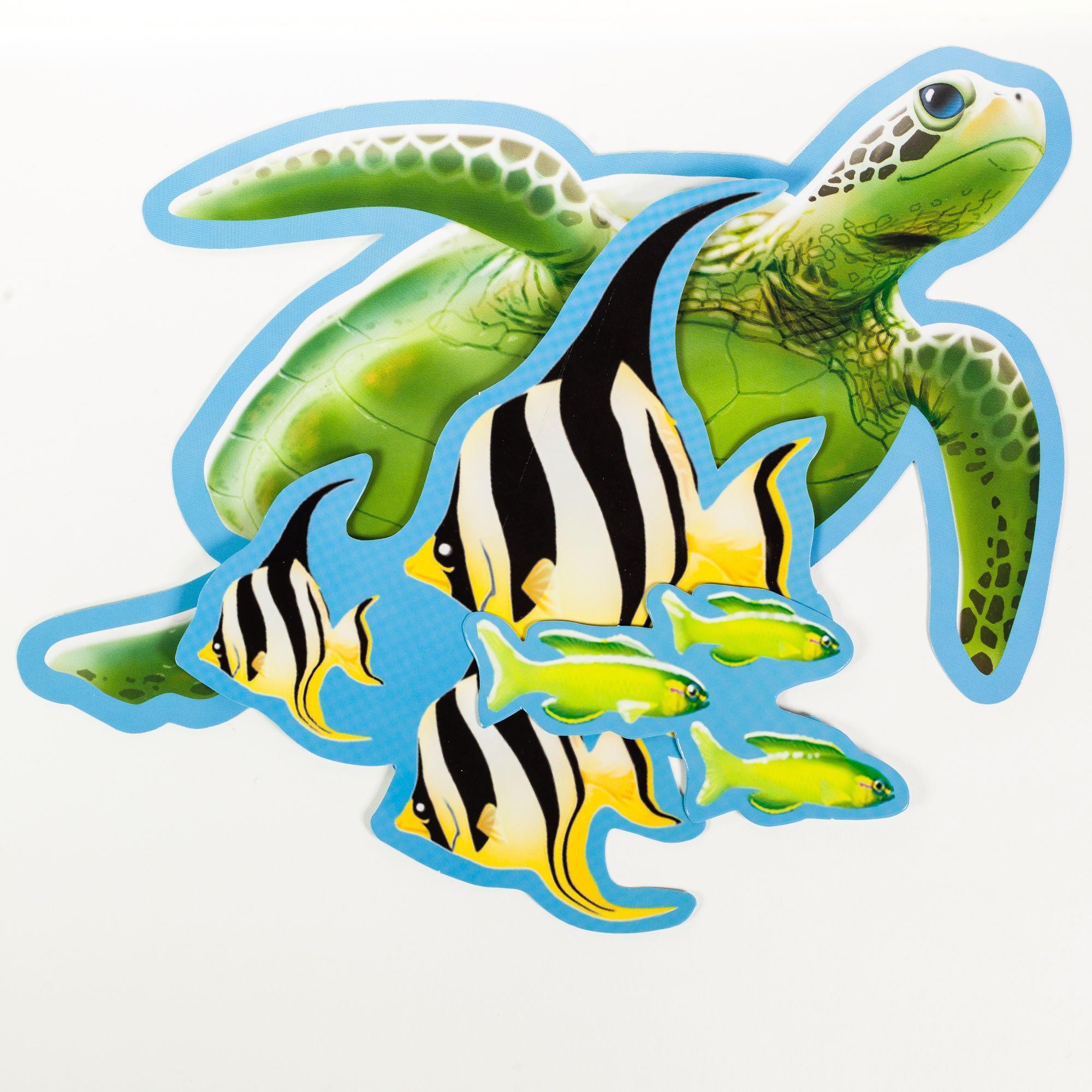 dekotiere unterwasserwelt 7 stück  unterwasserwelt