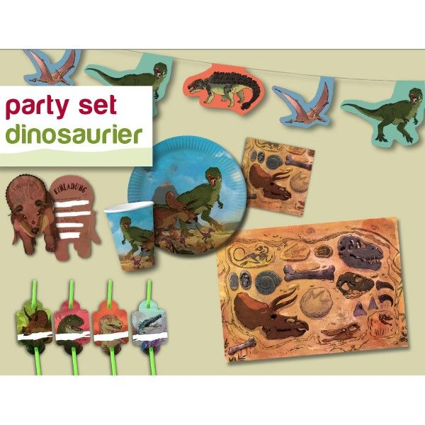 Party-Set Dino, f
