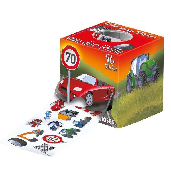 Stickerrolle Auto
