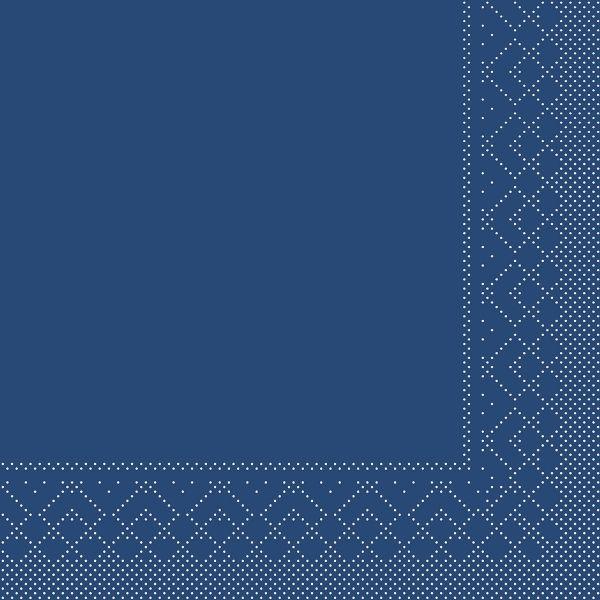 Servietten Blau, 33cm, 20 Stück