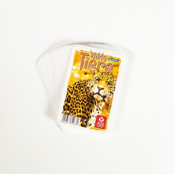 Kartenspiel Quartett Dschungel
