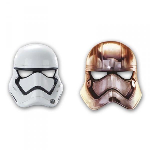 Masken Star Wars, 6 Stück