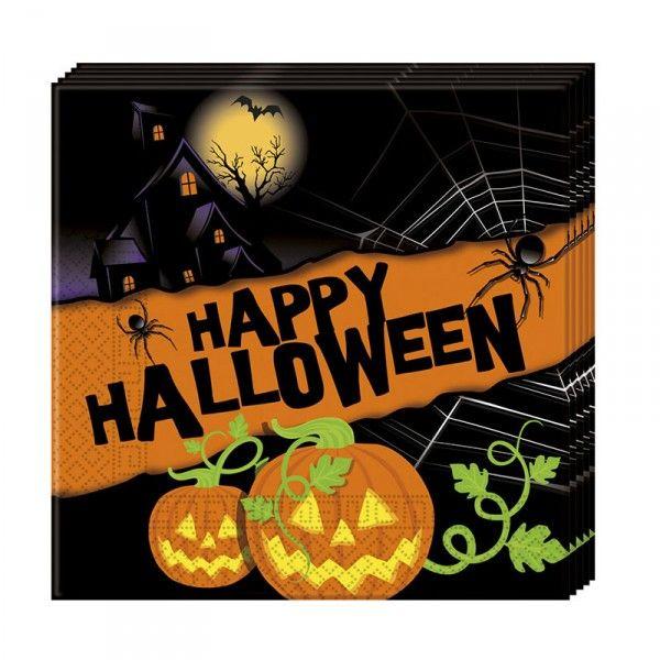Servietten Halloween, 33cm, 20 Stück