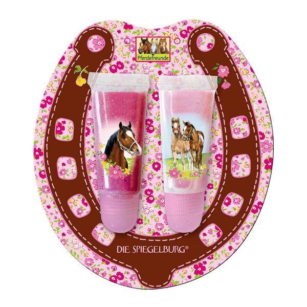 Pferdefreunde Lipgloss, Set mit zwei Tuben