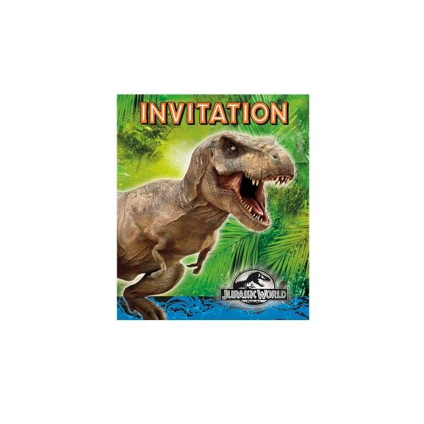 Einladung Jurassic World, 8 St