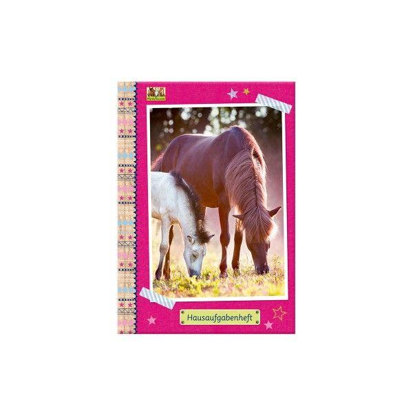 T1141383-Hausaufgabenheft-A5-Pferdefreunde-1