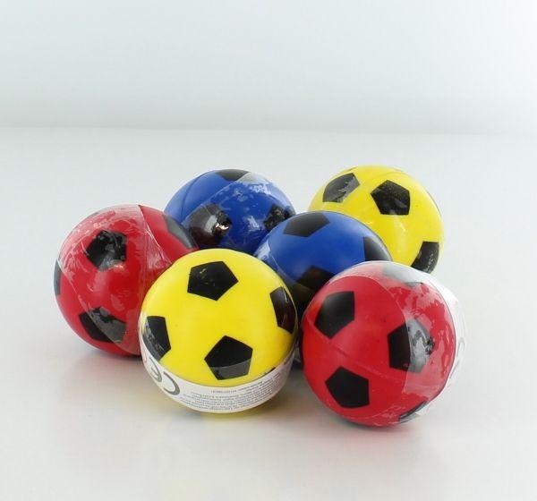 Flummi Fussball, ø 4,3 cm, 1 Stück, farblich sortiert