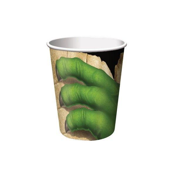 Pappbecher Dino, 256 ml, 8 St