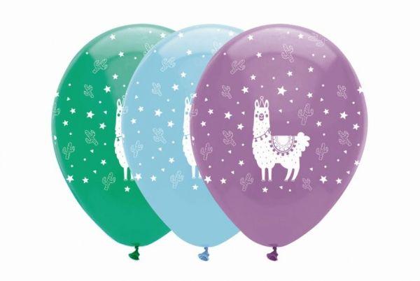 Luftballons Lama, 6 Stück