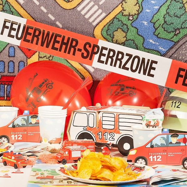 Feuerwehr Box inkl. Mottokarten