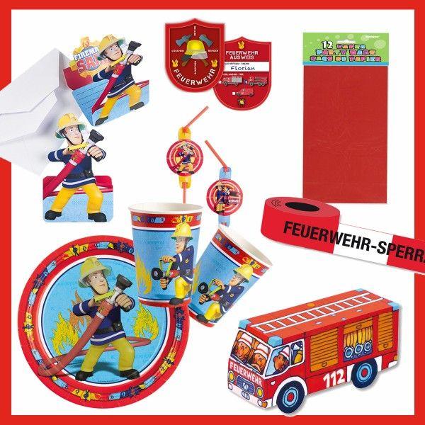 Feuerwehrmann Sam Box