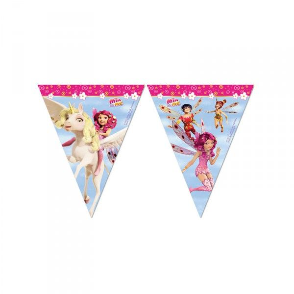 Wimpelkette Mia and me, 2,3m