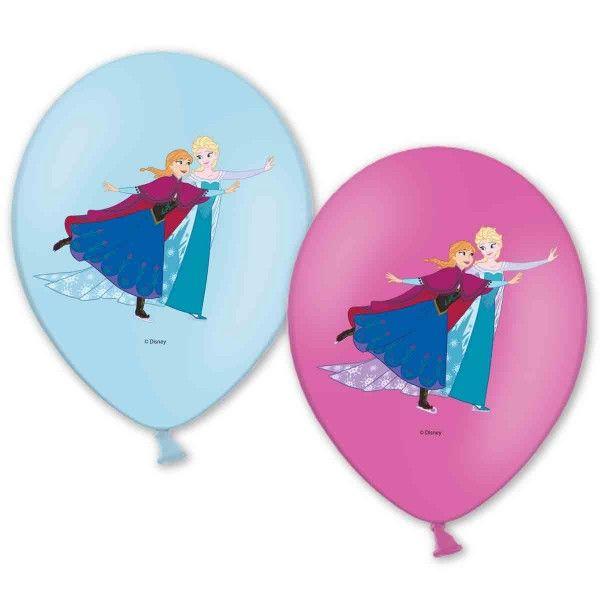 Luftballons Die Eiskönigin, 6 Stück