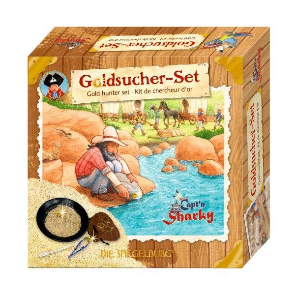 Goldsucher-Set Capt'n Sharky