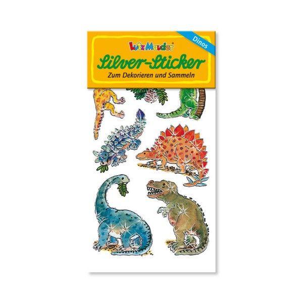 Silver Sticker Dinos