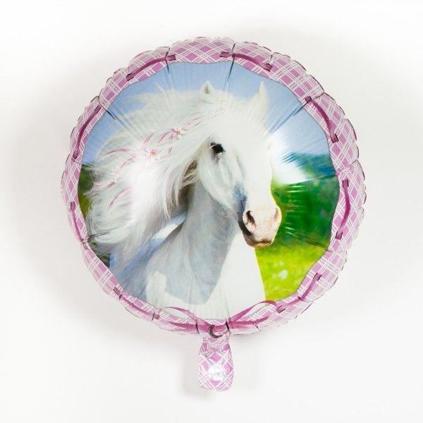 Folienballon Pferde