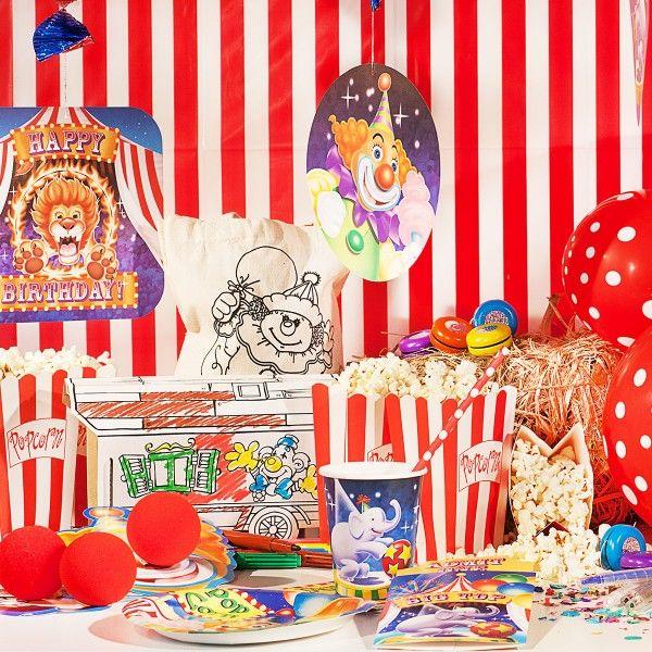 Zirkus Box inkl. Mottoboxen