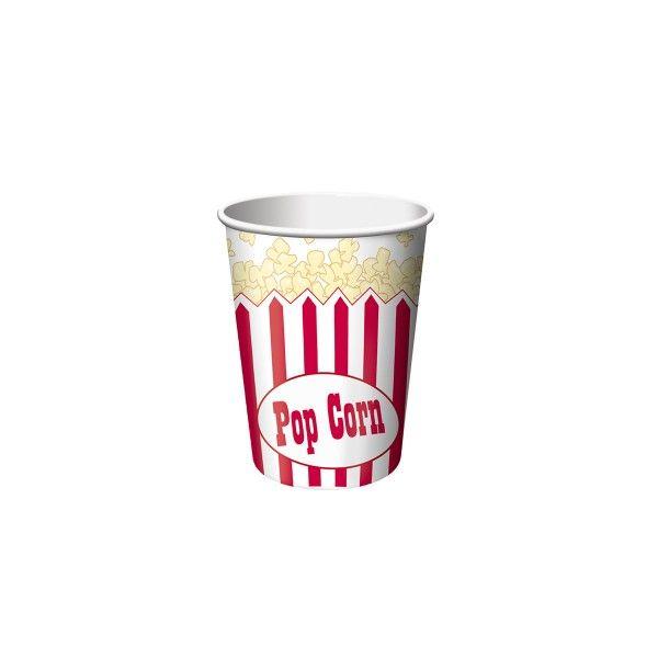 Becher Popcorn, 256 ml, 8 Stück X