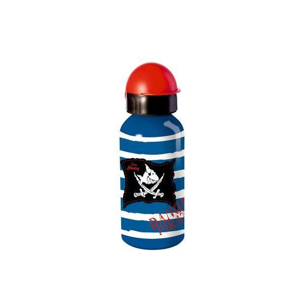 T1141397-Alu-Trinkflasche-Captn-Sharky