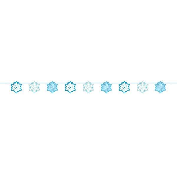 Girlande Schneeflocken