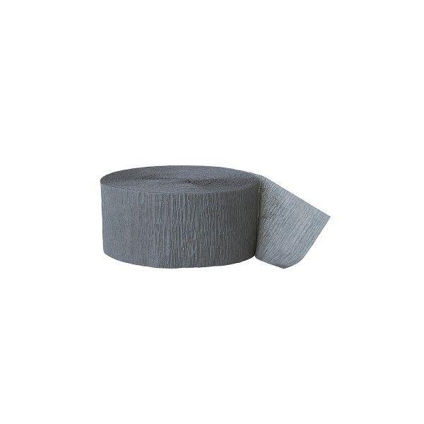 Kreppband grau