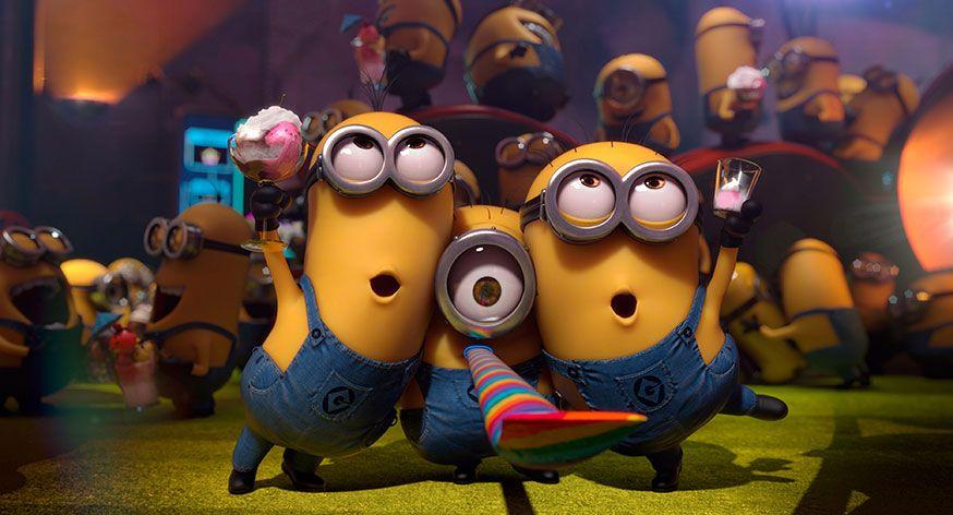 Gelber Spaß auf dem Minion Geburtstag! • Foto: DESPICABLE ME 2, 2013. ©Universal Pictures/courtesy Everett Collection - Ich einfach unverbesserlich 2/action press