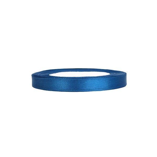 Satinband blau, 1 Rolle