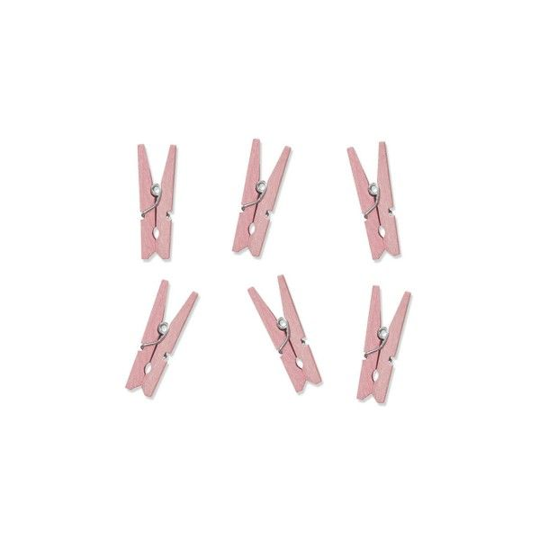 T1142517-Mini-Klammern-rosa-10-Stueck