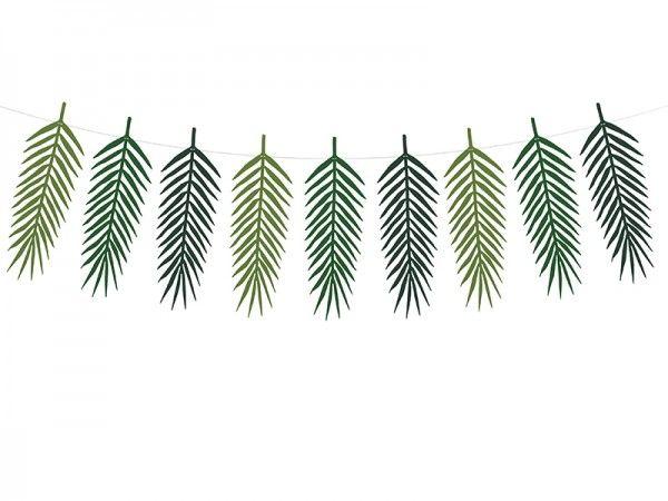 Girlande Palmblätter Hawai , 1,25 m