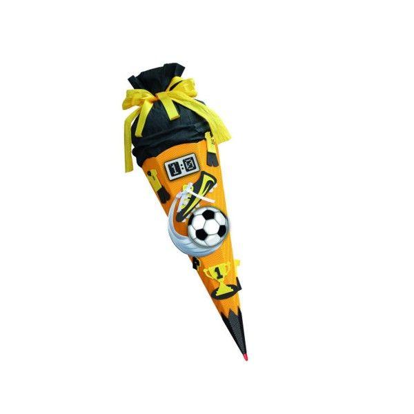 T1142740-Schultueten-Bastelset-Soccer-gelb-68-cm
