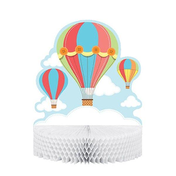 Tischdekoration-Heissluftballon