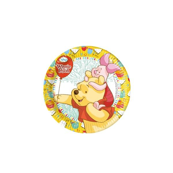 Pappteller-Winnie-Pooh-195cm-8-Stueck